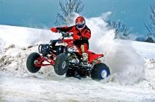 Аренда квадроциклов в Москве и Московской области зимой - веселье продолжается!