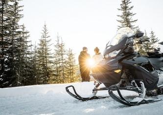Катание на снегоходах в Подмосковье для новичков